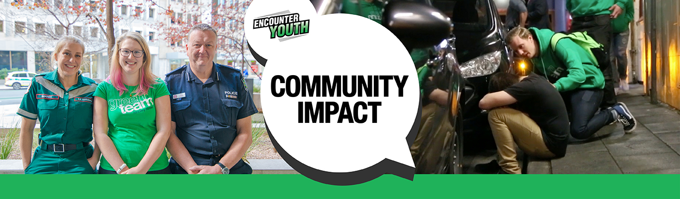 Community Impact and Encounter Youth.