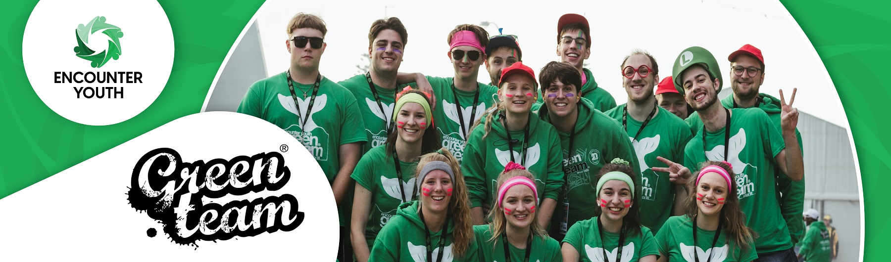 Encounter Youth hosts the Green Team Volunteers.