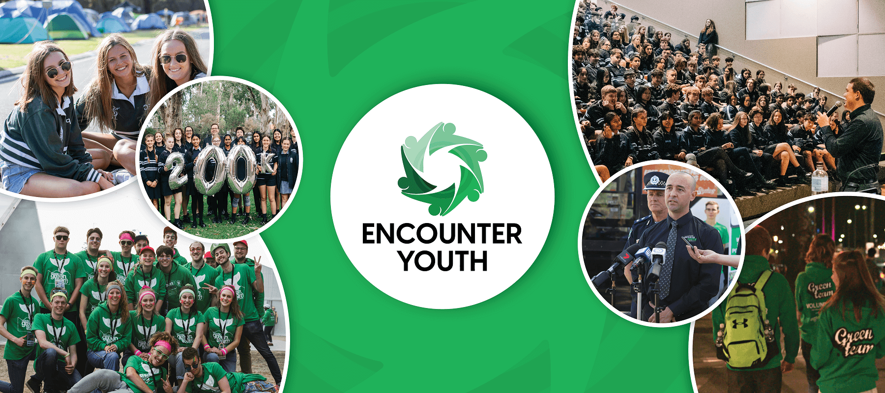 Encounter Youth seeks to be a positive influence on young people.