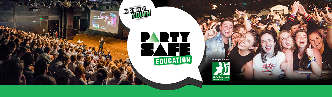 Party Safe Education, Header Image