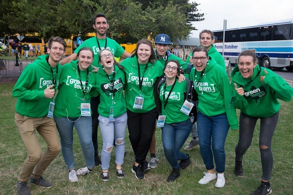 Encounter Youth hosts Green Team.