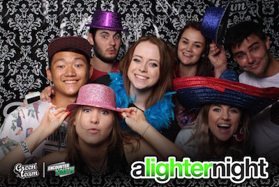 A Lighter Night Photobooth, Encounter Youth