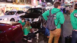 Hindley Street, Encounter Youth Green Team Volunteers