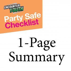 Party Safe Checklist 1 page summary thumbnail