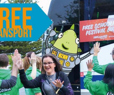 Free Transport at Schoolies Festival™