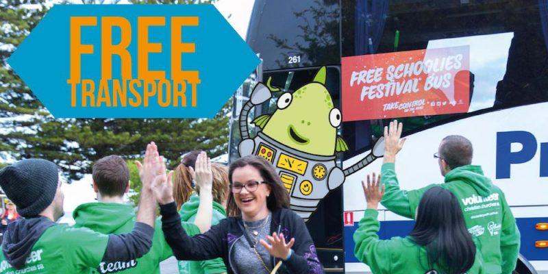 Free Transport at Schoolies Festival™
