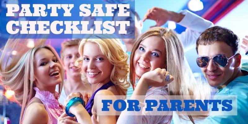 Party Safe Checklist