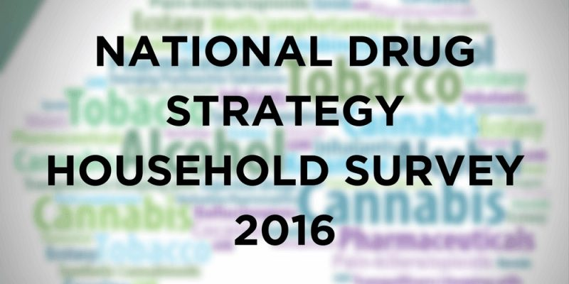 National Drug Strategy Household Survey 2016