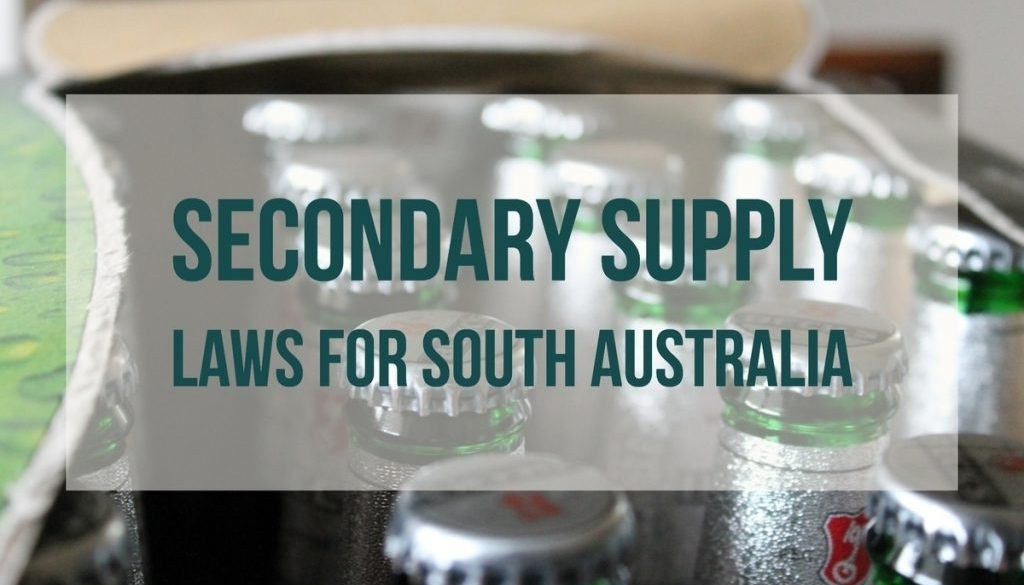 Secondary Supply Laws For South Australia