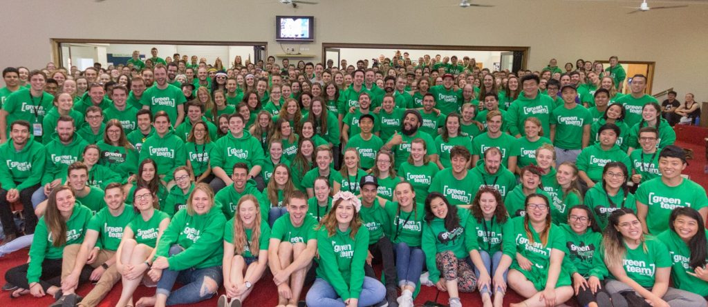 Encounter Youth's Green Team