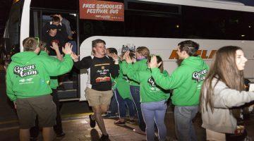 Schoolies Festival Free Mac Bus Feature