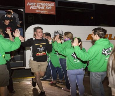 Schoolies Festival Free Mac Bus Feature