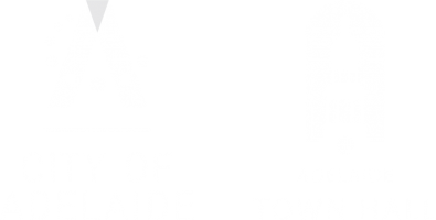 Town Hall Logo CoA Reverse Lockup
