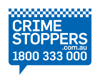 Crime Stoppers Logo, Encounter Youth Sponsors
