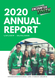 Encounter Youth, 2020 Annual Report