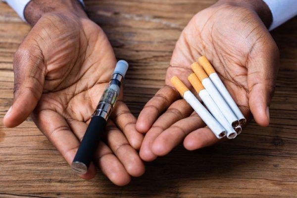 E-Cigarette and Regular Cigarettes